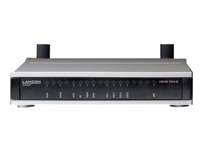 LANCOM 1781A-4G - Router - ISDN/WWAN/DSL - 4-Port-Switch - GigE, PPP - WAN-Ports: 3