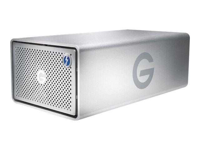 G-Technology G-RAID with Thunderbolt 3 GRARTH3EB80002BDB - Festplatten-Array - 8 TB - 2 Schächte - HDD 4 TB x 2 - USB 3.1, Thunderbolt 3 (extern)