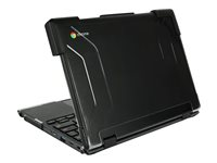 Max Cases MAX Extreme Shell Notebook top and rear cover 11INCH black, transpa