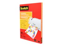 Scotch 100-pack clear 8.98 in x 11.46 in lamination pou