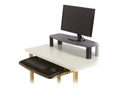 Kensington Over/Under Keyboard Drawer with SmartFit System Monitor stand with keyboard drawer