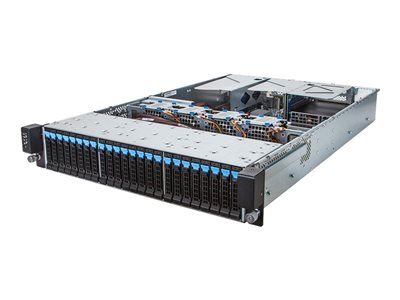 Gigabyte R280-G2O (rev. 1.0) Server rack-mountable 2U 2-way RAM 0 GB hot-swap 2.5INCH