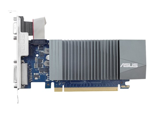 Image of ASUS GT710-SL-1GD5-BRK - graphics card - GF GT 710 - 1 GB