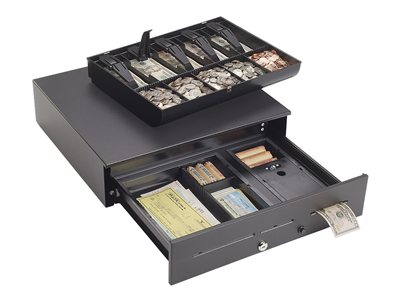 MMF Industries Advantage Electronic cash drawer black