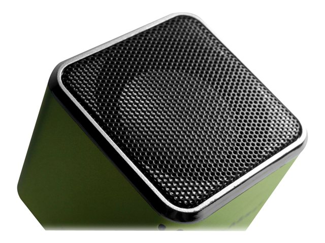Technaxx MusicMan Mini Wireless Soundstation BT-X2 - Lautsprecher - tragbar - kabellos - Bluetooth - grün