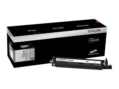 Lexmark 700D1 Black original developer kit LCCP