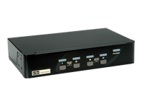 ROLINE KVM Switch - KVM-/Audio-/USB-Switch