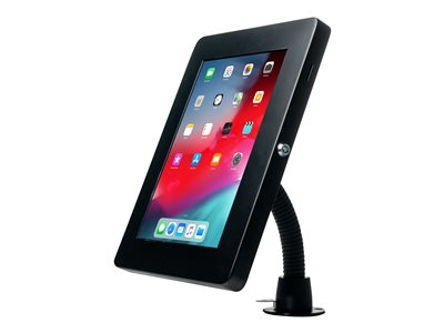 CTA Premium Security Gooseneck Tabletop Mount with Steel Enclosure for iPad 10.2-inch (7th Gen.), i