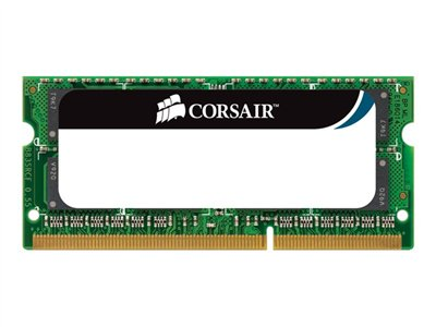 CORSAIR DDR3  8GB 1333MHz CL9  Ikke-ECC SO-DIMM  204-PIN