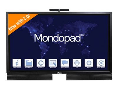 InFocus Mondopad INF6522AG - Kit - All-in-One (Komplettlösung) - 1 x Core i7 6700T / 2.8 GHz - RAM 8 GB - SSD 256 GB