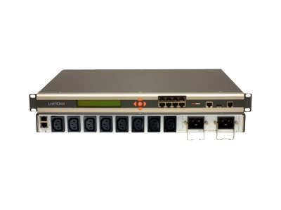 Lantronix SecureLinx Remote Branch Office Manager - Konsolenserver - 8 Anschlüsse - 100Mb LAN, RS-232 - Analogsteckplätze: 1 - AC 220 V