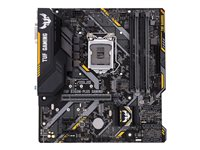 ASUS TUF B360M-PLUS GAMING - Carte-mère - micro ATX - Socket LGA1151 - B360 - USB 3.1 Gen 1, USB 3.1 Gen 2, USB-C Gen1 - Gigabit LAN - carte graphique embarquée (unité centrale requise) - audio HD (8 canaux)