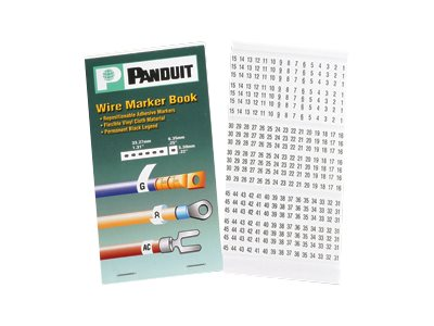 Panduit wire / cable markers book (preprinted)