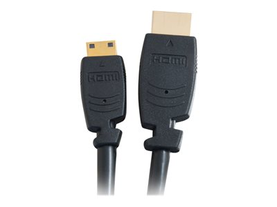 C2G 1m Velocity High Speed HDMI to HDMI Mini Cable with Ethernet (3.3ft)