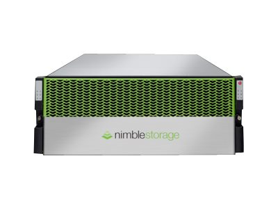 Nimble Storage Adaptive Flash CS-Series CS3000 Hybrid storage array iSCSI (10 GbE) (external)