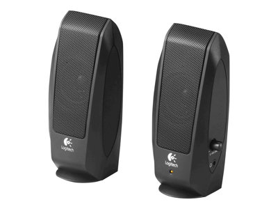 Logitech S-120 - speakers - for PC