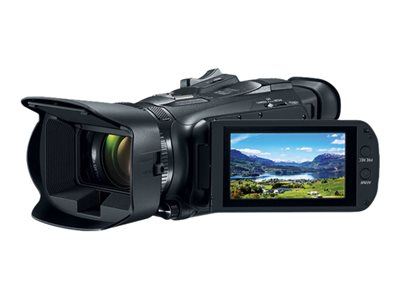 Canon VIXIA HF G50 Camcorder 4K / 30 fps 21.14 MP 20x optical zoom flash card