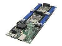 Intel Compute Module HNS2600BPQ - Server - blade - 2-way - RAM 0 MB - no HDD - GigE, 10 GigE - monitor: none