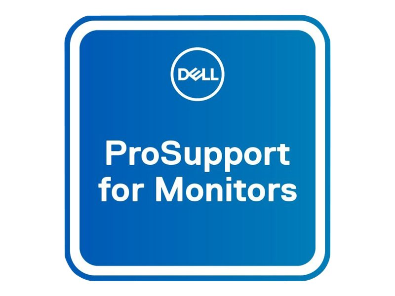 Dell Upgrade from 3Y Basic Advanced Exchange to 3Y ProSupport for monitors - extended service agreement - 3 years...