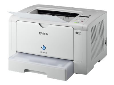 Epson WorkForce AL-M200DW - Printer - monochrome - Duplex - LED - A4/Legal - 1200 dpi - up to 30 ppm - capacity: 260 sheets - USB, LAN, Wi-Fi