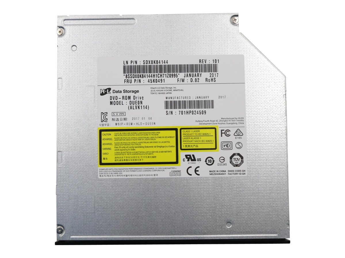 Hitachi-LG DUE0N - DVD-ROM drive - Serial ATA - internal