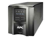 APC Smart-UPS 750 LCD - UPS - AC 230 V - 500 Watt - 750 VA - RS-232, USB - output connectors: 6 - black