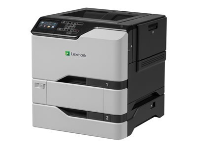 Lexmark CS725dte Printer color Duplex laser A4/Legal 1200 x 1200 dpi