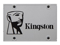 "Kingston SSDNow UV400 Desktop/Notebook Upgrade Kit - Solid state drive - 120 GB - internal - 2.5"" (in 3.5"" carrier) - SATA 6Gb/s"