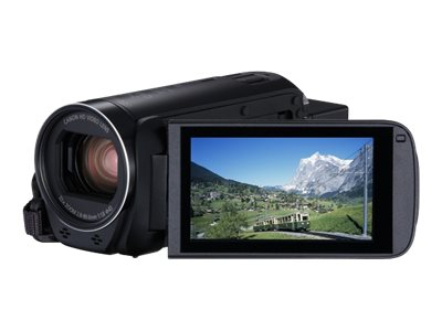 Image of Canon LEGRIA HF R86 - camcorder - storage: flash card
