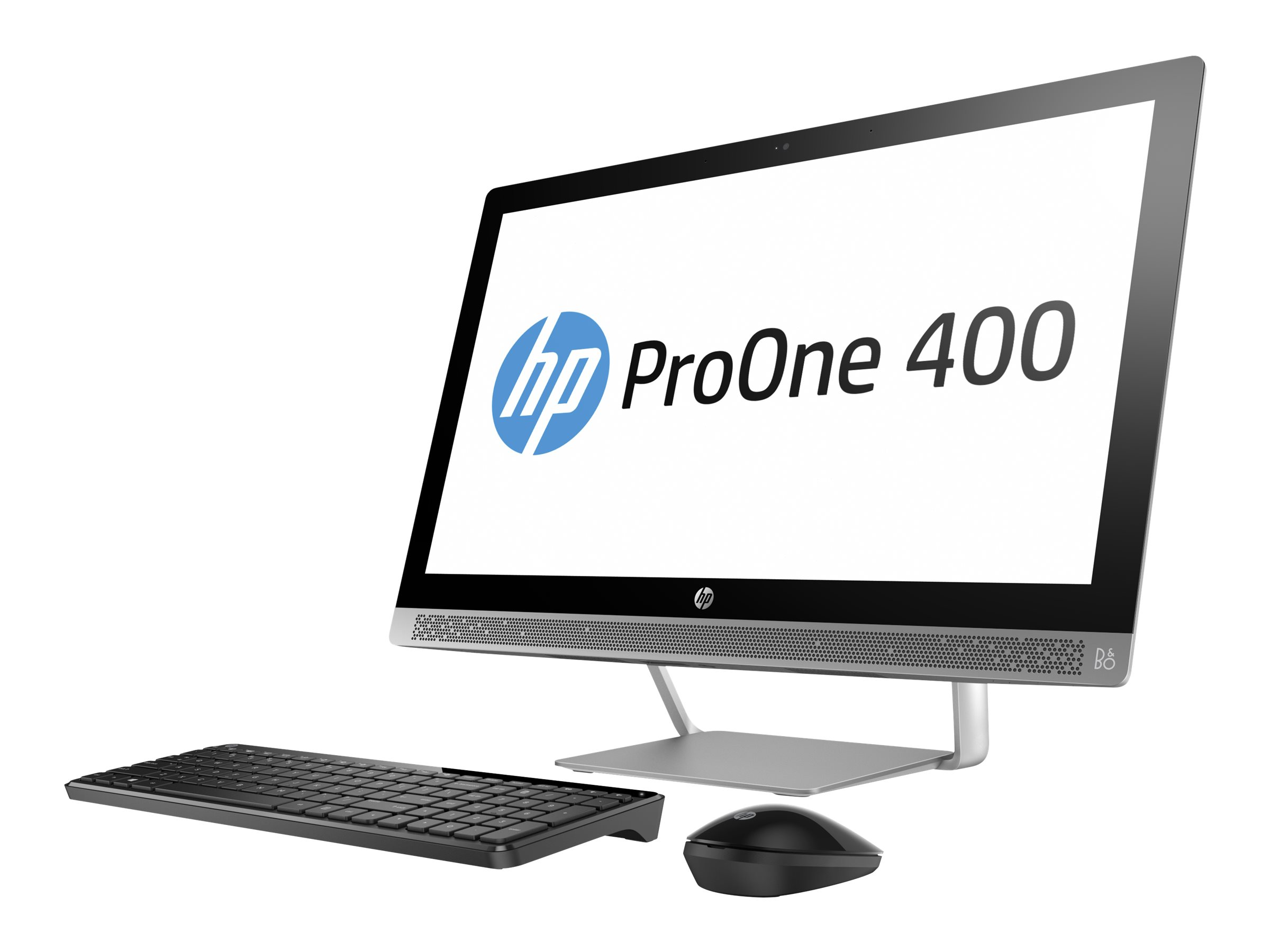 HP ProOne 440 G3 - All-in-One (Komplettlösung) - 1 x Core i3 7100T / 3.4 GHz - RAM 8 GB - SSD 256 GB - DVD-Writer