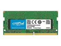 Crucial DDR4  4GB 2400MHz CL17  Ikke-ECC SO-DIMM  260-PIN