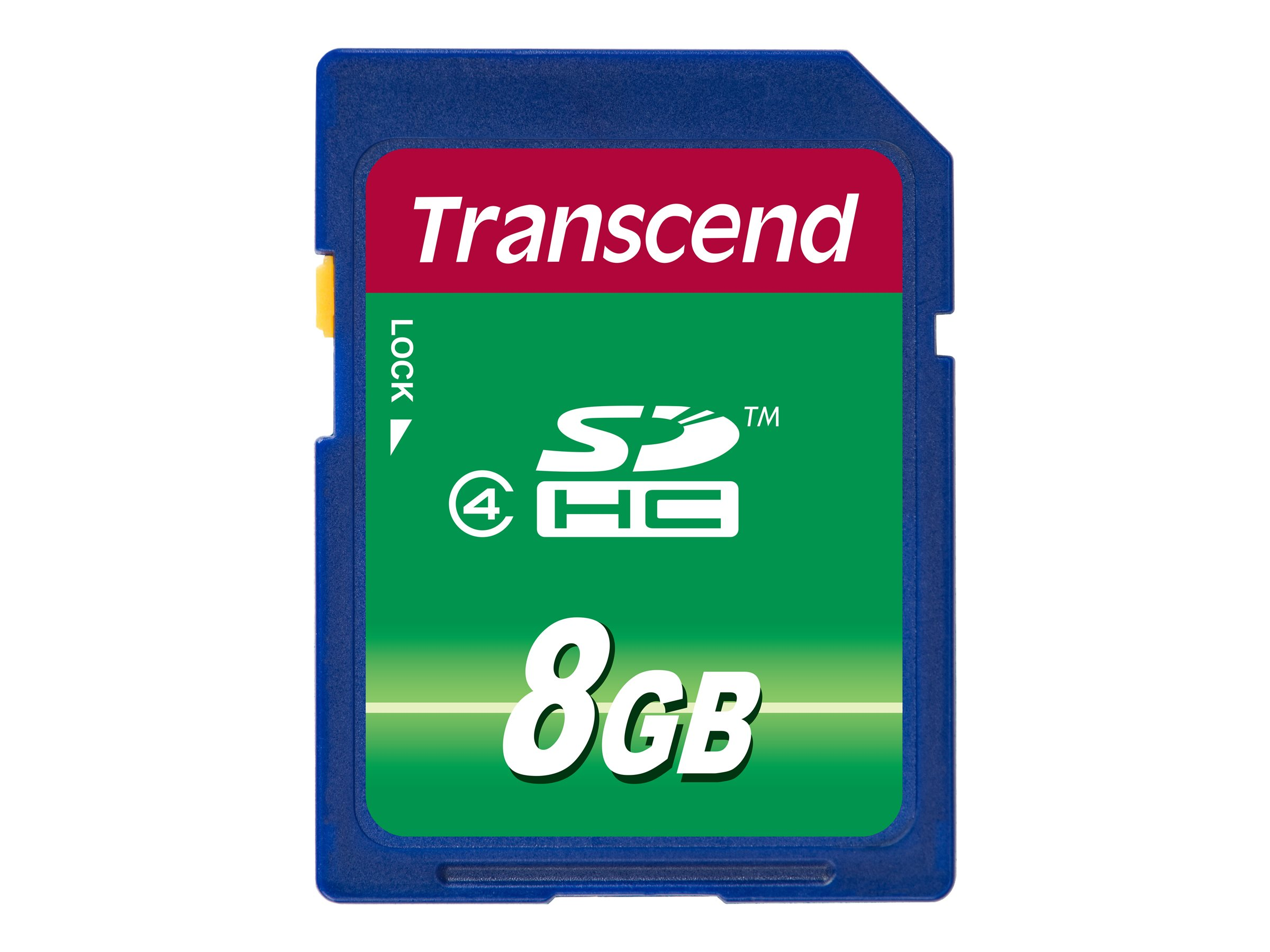 Transcend - Flash-Speicherkarte - 8 GB - Class 4 - SDHC