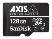 AXIS Surveillance Flash memory card (microSDXC to SD adapter included) 128 GB