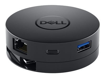 Dell Mobile Adapter DA300 - docking station - USB-C - VGA - GigE