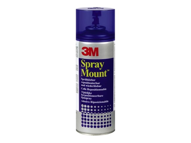 3m spray mount bombe colle a rosol transparent 400 - Colle neoprene en bombe ...