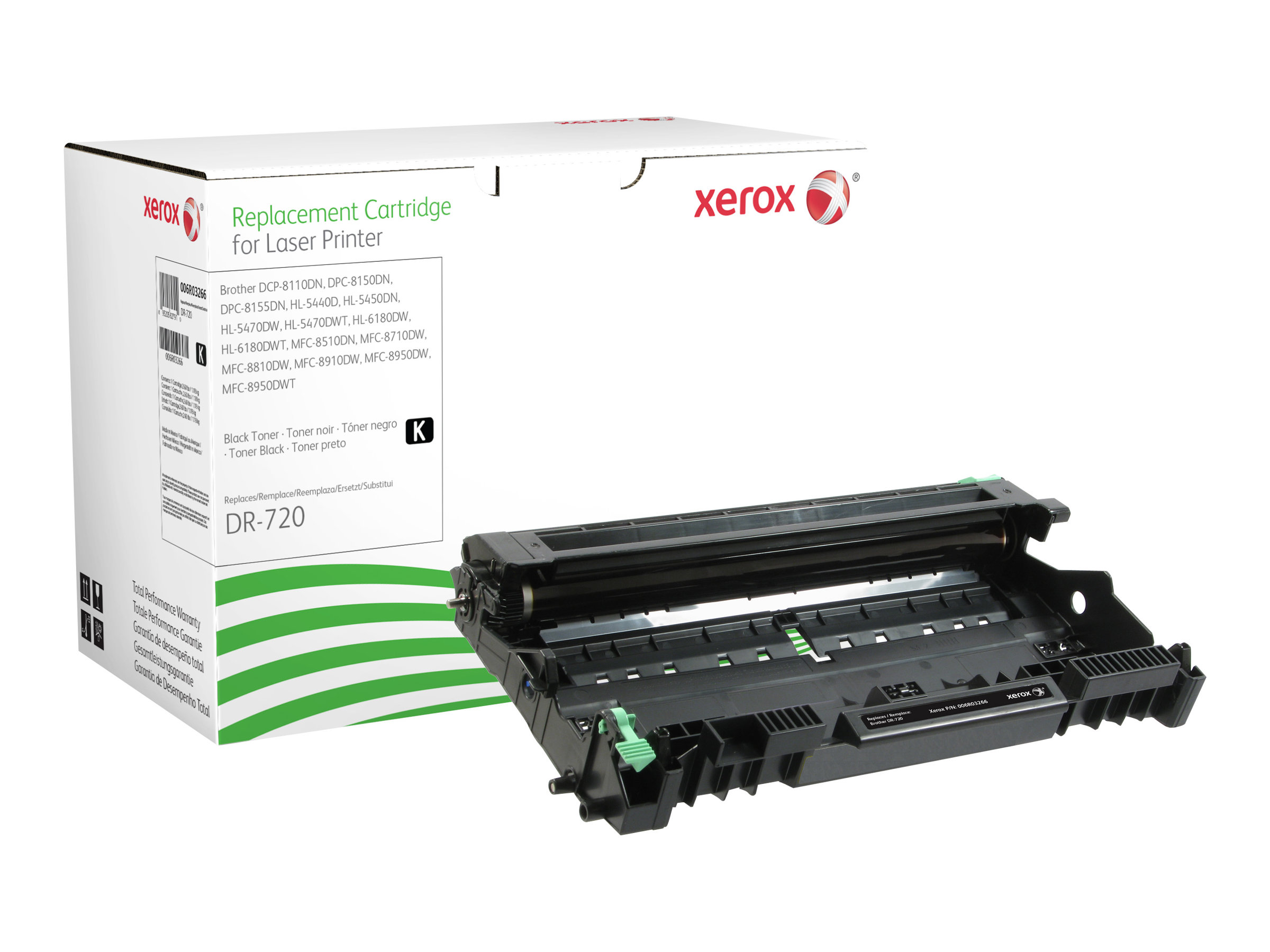 Xerox - noir - kit tambour (alternative pour : Brother DR3300)