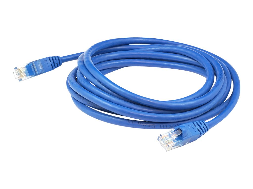 AddOn 5ft RJ-45 Cat6A Blue Patch Cable - patch cable - 1.52 m - blue