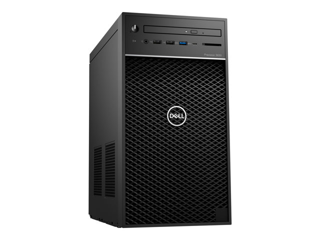 Dell Precision 3630 Tower - MT - 1 x Xeon E-2174G / 3.8 GHz - RAM 16 Go - SSD 512 Go - graveur de DVD - Quadro P620 - GigE - Win 10 Pro 64 bits - technologie Intel vPro - moniteur : aucun - BTP - avec 1 Year ProSupport with Next Business Day On-Site Service (UK, CH - 3 Years Basic Hardware Warranty)