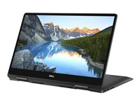 "Dell Inspiron 7586 2-in-1 - Conception inclinable - Core i5 8265U / 1.6 GHz - Win 10 Pro 64 bits - 8 Go RAM - 256 Go SSD NVMe - 15.6"" IPS écran tactile 1920 x 1080 (Full HD) - UHD Graphics 620 - Wi-Fi, Bluetooth - noir - BTP - avec 1 Year Dell Collect and Return Service"