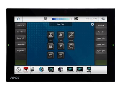 AMX Modero G5 MD-1002 12INCH Class (10.1INCH viewable) LED display with touchscreen (multi touch)