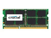 Picture of Crucial - DDR3 - 4 GB - SO-DIMM 204-pin - unbuffered (CT4G3S1339M)