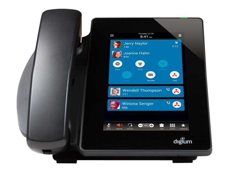 Digium D80 - VoIP phone - 3-way call capability