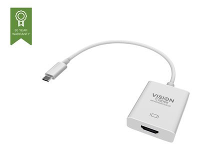 Vision TC-USBCHDMI - external video adapter - white