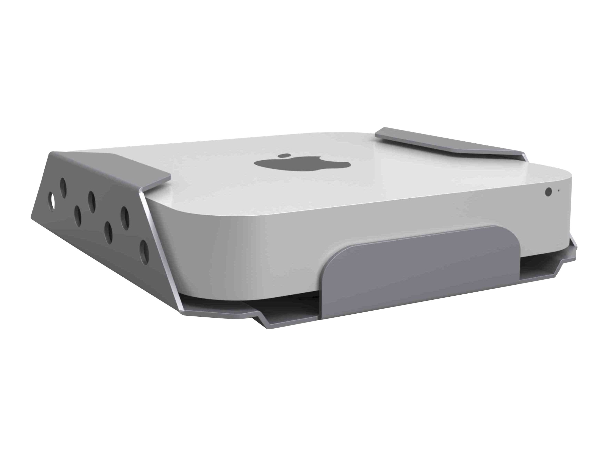 Compulocks Mac Mini Secure Mount Enclosure with Lockable Head - Sicherheitskit - Wand montierbar, unter Tisch montierbar - für Apple Mac mini (Ende 2012, Ende 2014, Mitte 2010, Mitte 2011)