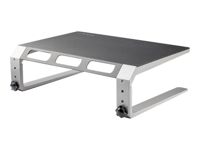"""StarTech.com Monitor Riser Stand - For up to 32"""" Monitor - Height Adjustable - Computer Monitor Riser - Steel and Alumi…"""