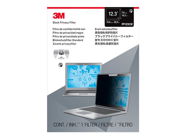 3M Touch Privacy Filter for 12.3