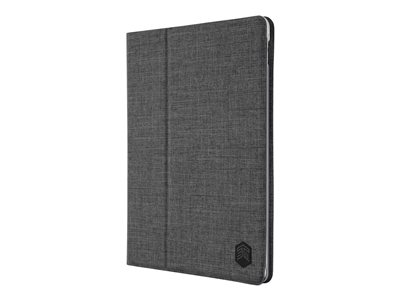 STM Atlas Flip cover for tablet polyester, polyethylene charcoal