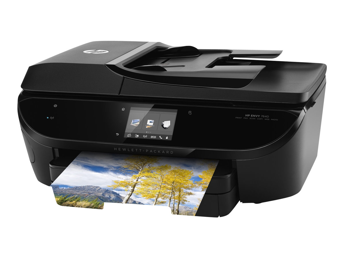 HP Envy 7640 e-All-in-One - Multifunktionsdrucker - Farbe - Tintenstrahl - Legal (216 x 356 mm) (Original) - A4/Legal (Medien)