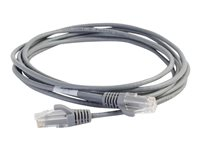 C2G 7ft Cat6 Snagless Unshielded (UTP) Slim Ethernet Network Patch Cable Gray Patch cable