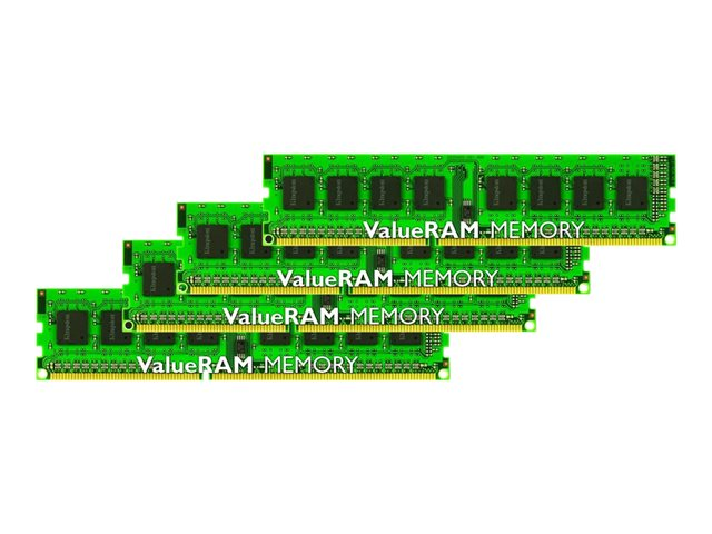 Kingston ValueRAM - DDR3 - 32 GB: 4 x 8 GB - DIMM 240-pin